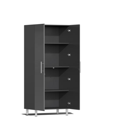 Image of Ulti-MATE Garage 2.0 Series 8-Piece Tall Grey Cabinet Kit