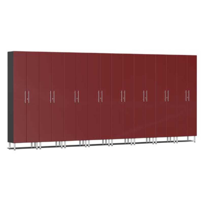 Ulti-MATE Garage 2.0 Series 8-Piece Tall Red Cabinet Kit