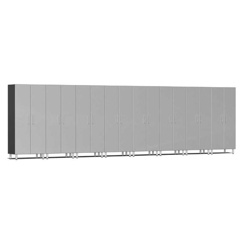 Image of Ulti-MATE Garage 2.0 Series 8-Piece Tall Silver Cabinet Kit
