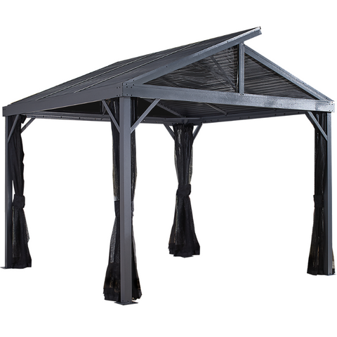 Image of Sojag 500-9162844 SANIBEL II #93LLL Gazebo 8'x8' st roof