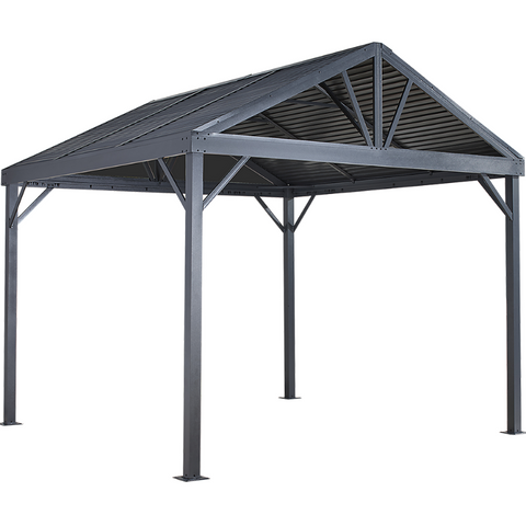 Sojag 500-9162820 SANIBEL I #93LLL Gazebo 8'x8' steel roof