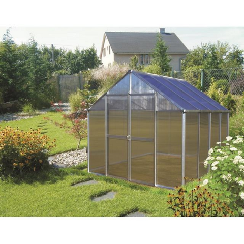 Image of Monticello MONT-8-PREMIUM Monticello Greenhouse 8FTx 8FT - Black Finish - Premium Package