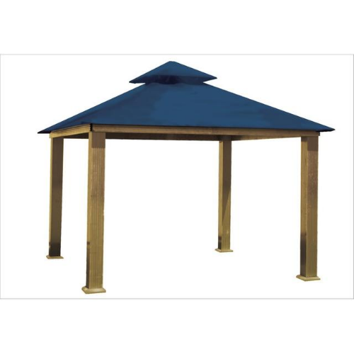 Cobalt Blue ACACIA AGRC12-SD 12 FT SQ ACACIA Gazebo-Replacement Canopy