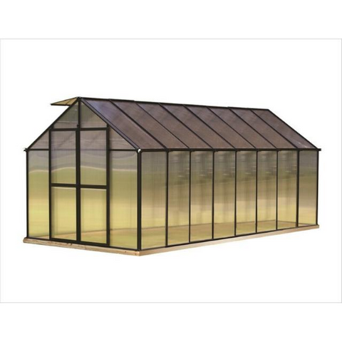 Image of Monticello MONT-16 Monticello 8FT x 16FT Black Greenhouse