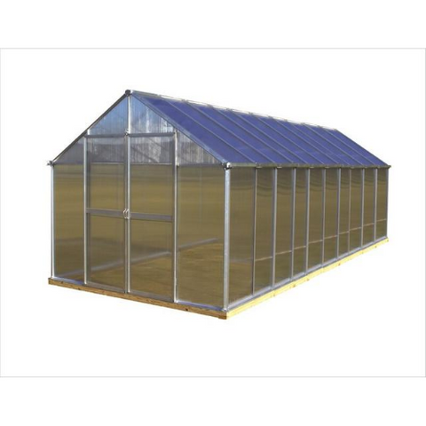 Image of Monticello MONT-20-PREMIUM Monticello Greenhouse 8FTx 20FT - Black Finish - Premium Package