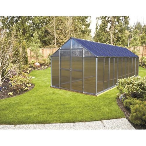 Monticello MONT-20-PREMIUM Monticello Greenhouse 8FTx 20FT - Black Finish - Premium Package