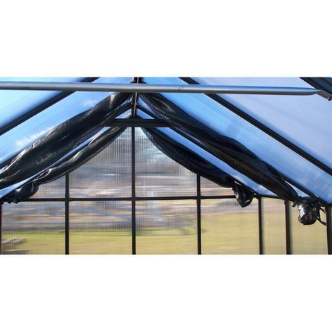 Image of Monticello MONT-12 Monticello 8FT x 12FT Black Greenhouse