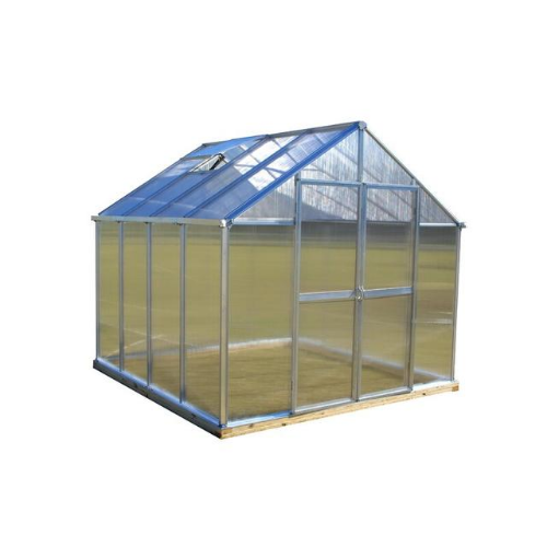 Monticello MONT-8 Monticello 8FT x 8FT Black Greenhouse