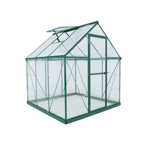 Palram Hybrid 6x6 Greenhouse Kit - Green - HG5506G