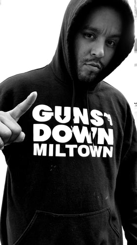 Guns Down Miltown Hoody BLACK Classic