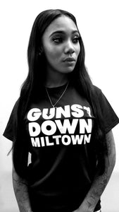 Guns Down Miltown T-shirt