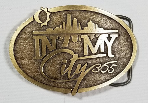In My CIty 365 Belt Buckle (limited edition)