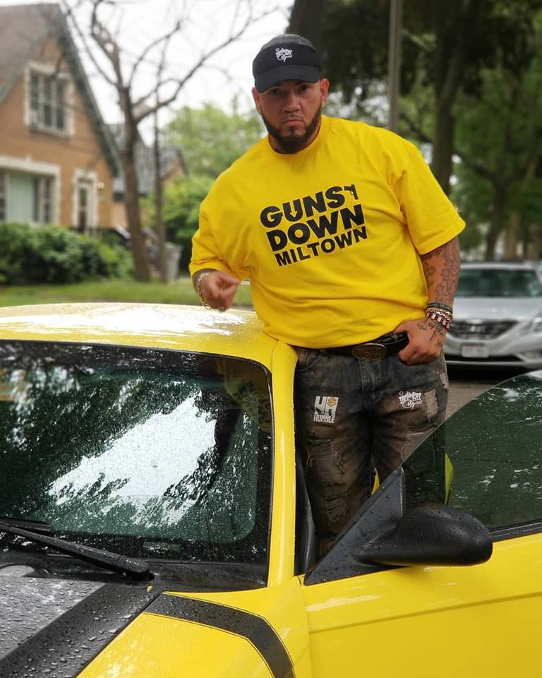 Gold Guns Down T-Shirt