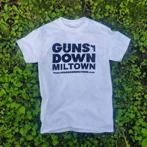 Guns Down Miltown T-shirt (Black or White)