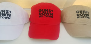 Guns Down Miltown Embroided Cap ( ALL COLORS AVAILABLE)
