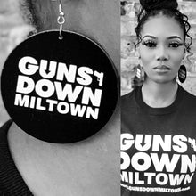 Load image into Gallery viewer, Guns Down Miltown Ear Rings