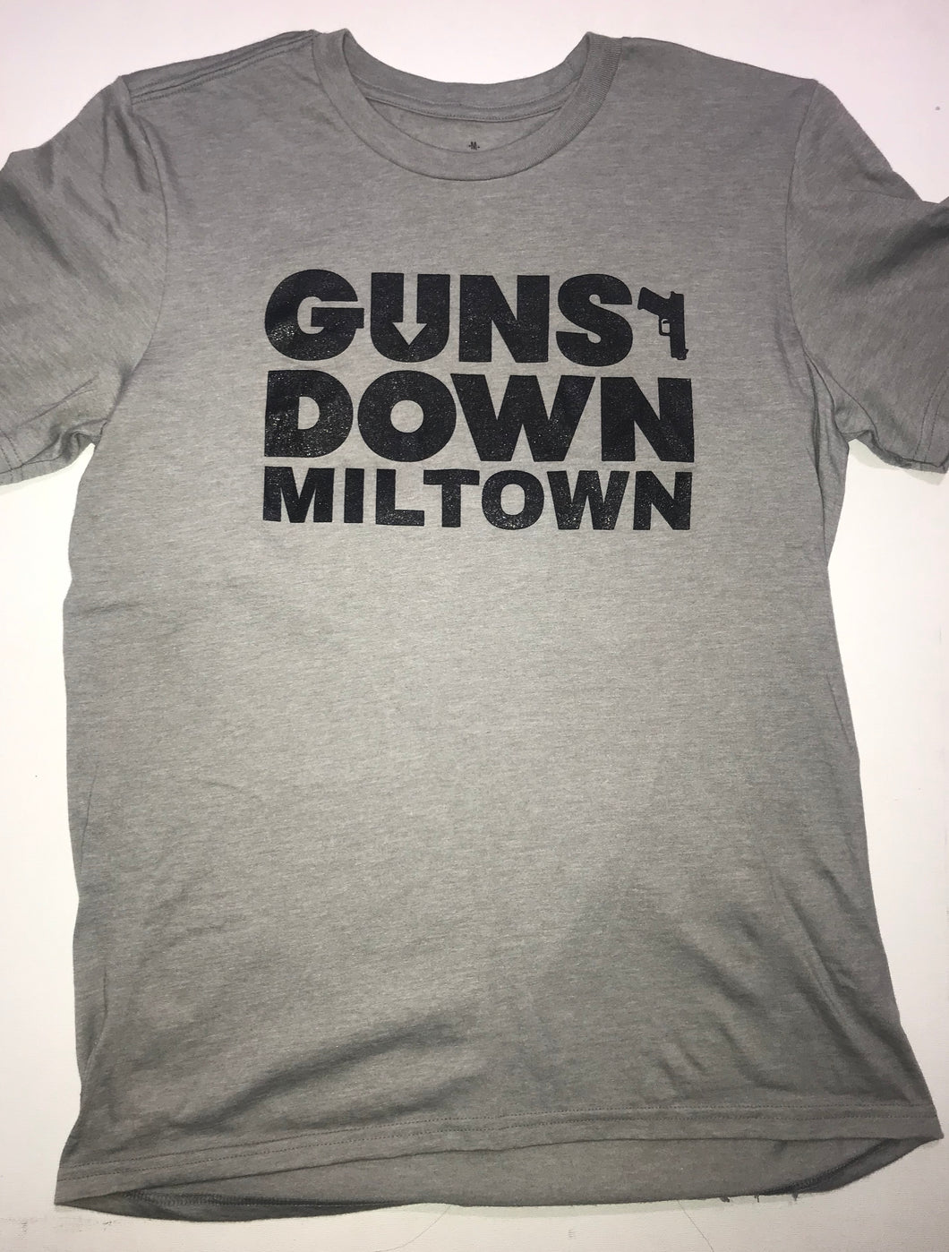 Grey Guns Down Miltown T Shirt (limited)