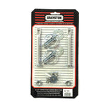 Grayston Silver Alloy Bonnet Pin Kit