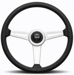 Momo Retro Leather Steering Wheel 360mm