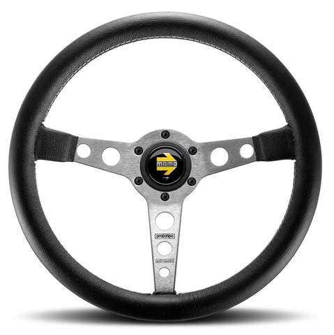 Momo Prototipo Silver Steering Wheel 350mm