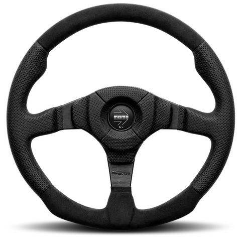 Momo Dark Fighter Steering Wheel 350mm
