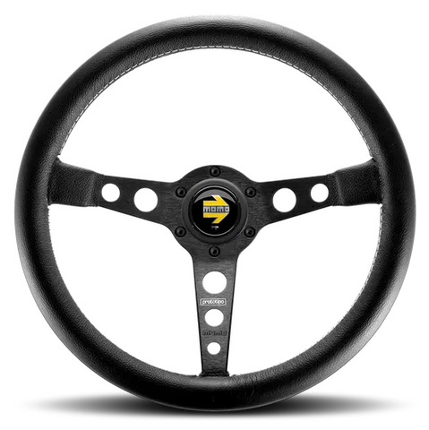 Momo Prototipo Black Steering Wheel 350mm