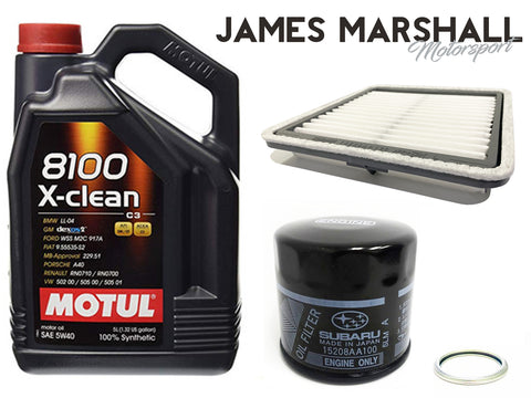Street Performance Subaru Oil And Air filter Combo