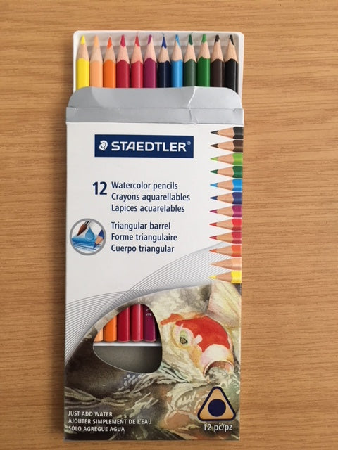 Staedtler Watercolor 12's