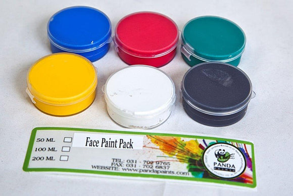 Face Paint 6x15ml