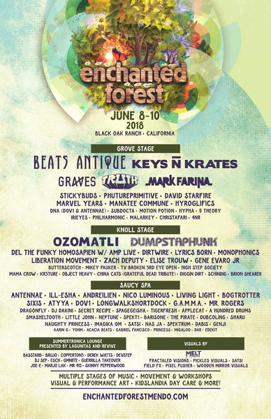 Enchanted Forrest Gathering June 8-10th at Black Oak Ranch in Laytonville Ca