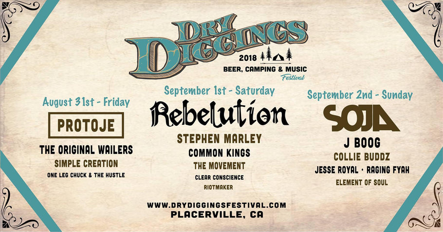 Dry Diggins Music Festival in Placerville