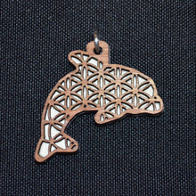 Dolphin Flower of Life Spirit Animal