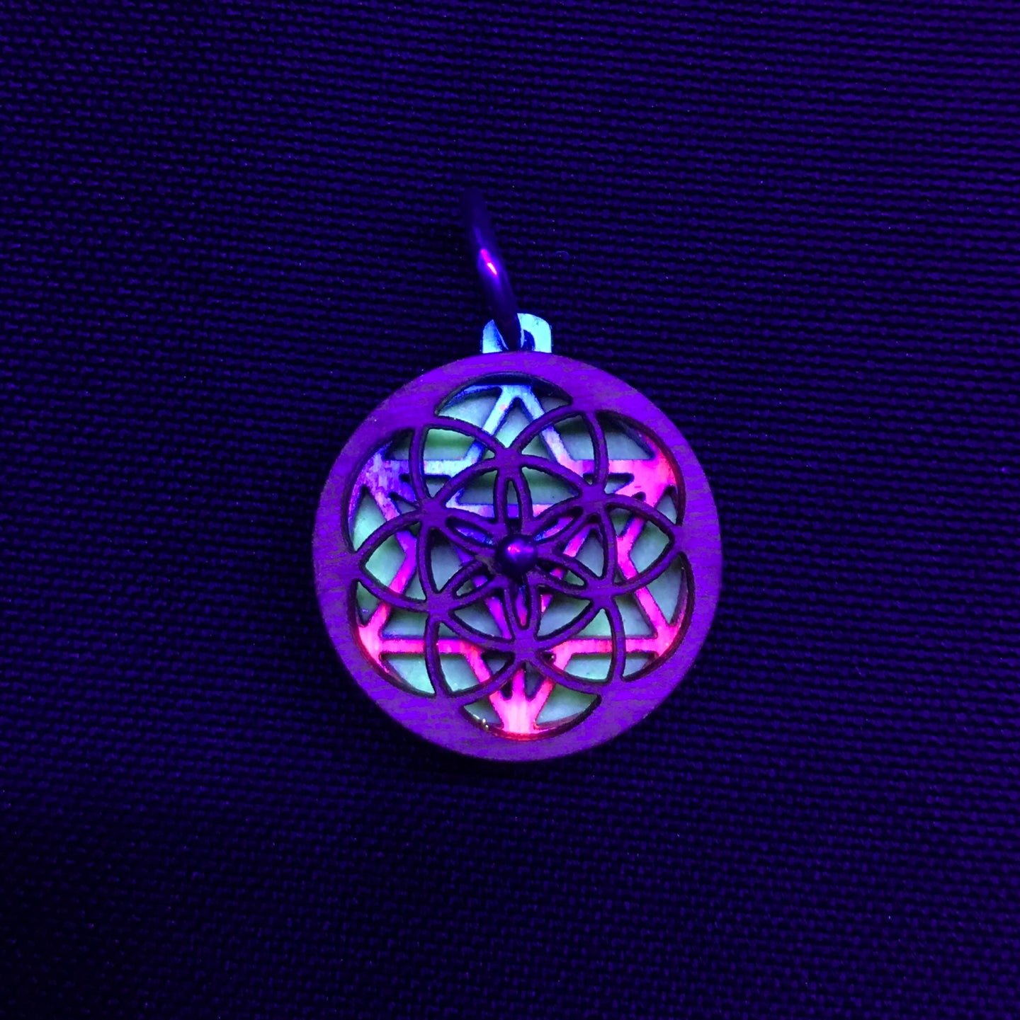 *Sold Out* Micro Seed of Life Merkaba RotatoR
