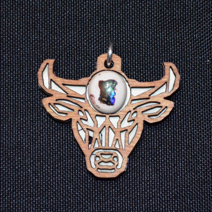 Fire Opal Bull Spirit Animal