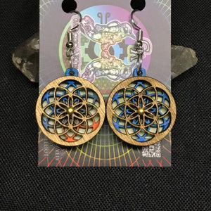 Seed of Life RotatoR Earrings