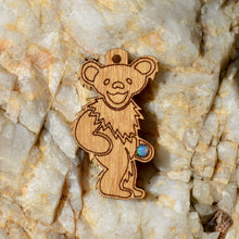 ***Sold Out*** Grateful Dead Bear 3 Fire Opal Pendant