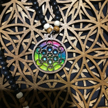 ***Sold Out*** Metatron's Cube 8x Labradorite Rechargeable LED RotatoR