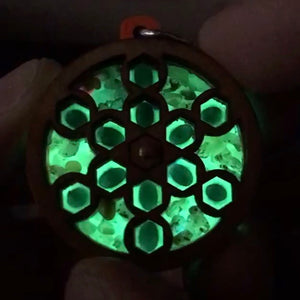 *Sold Out* 12 Emerald and Fire Opal Gemstone RotatoR