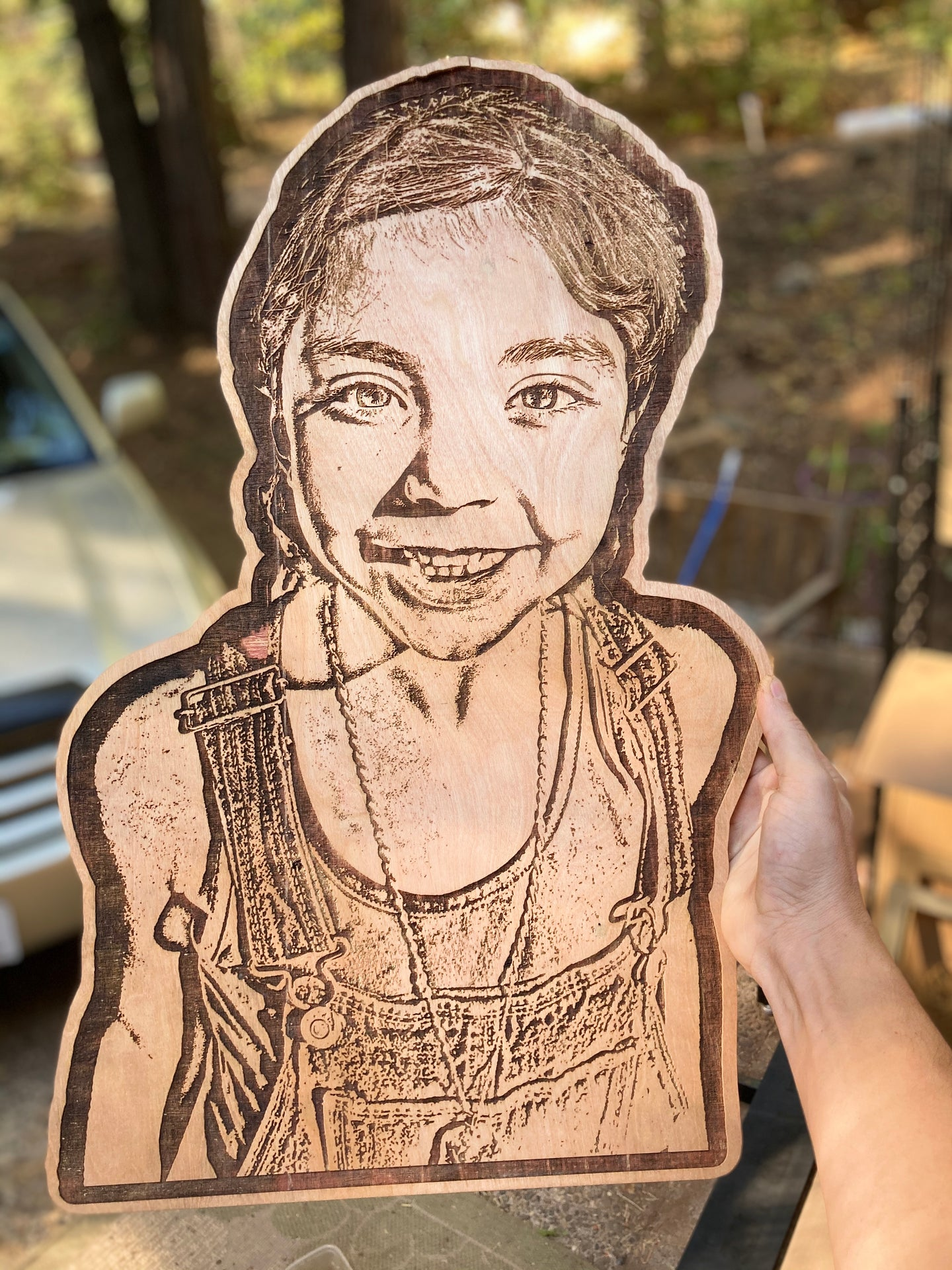 Laser Engraved Photo 5 x 7""