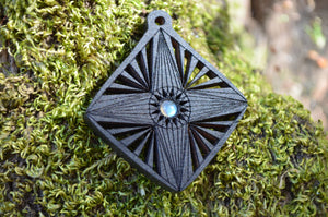 Labradorite Flight of the Navigator Gemlord Space Cruiser Pendant