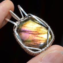 Labradorite 13 Wire Wrap in Sterling Silver