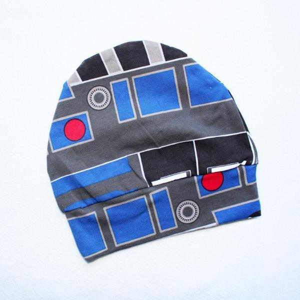 Star Wars R2D2 Beanie Hat 6-12 Best star wars Outfits for Baby Best star 7d684cfeb3f