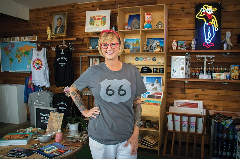 Buck Atom's sells the special charm of Route 66