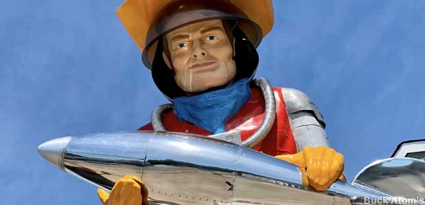 Buck Atom: Space Cowboy Muffler Man