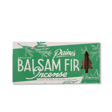 Balsam Fir Incense 24 sticks with burner - Home - Buck Atom's Cosmic Curios on 66