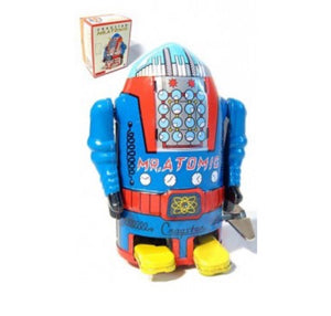 Mr. Atomic Tin Robot