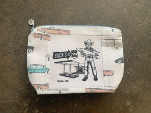 Buck Atom Small Clutch