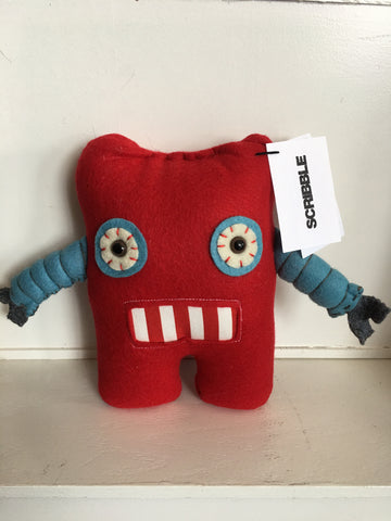 Robot Cuddle Monster