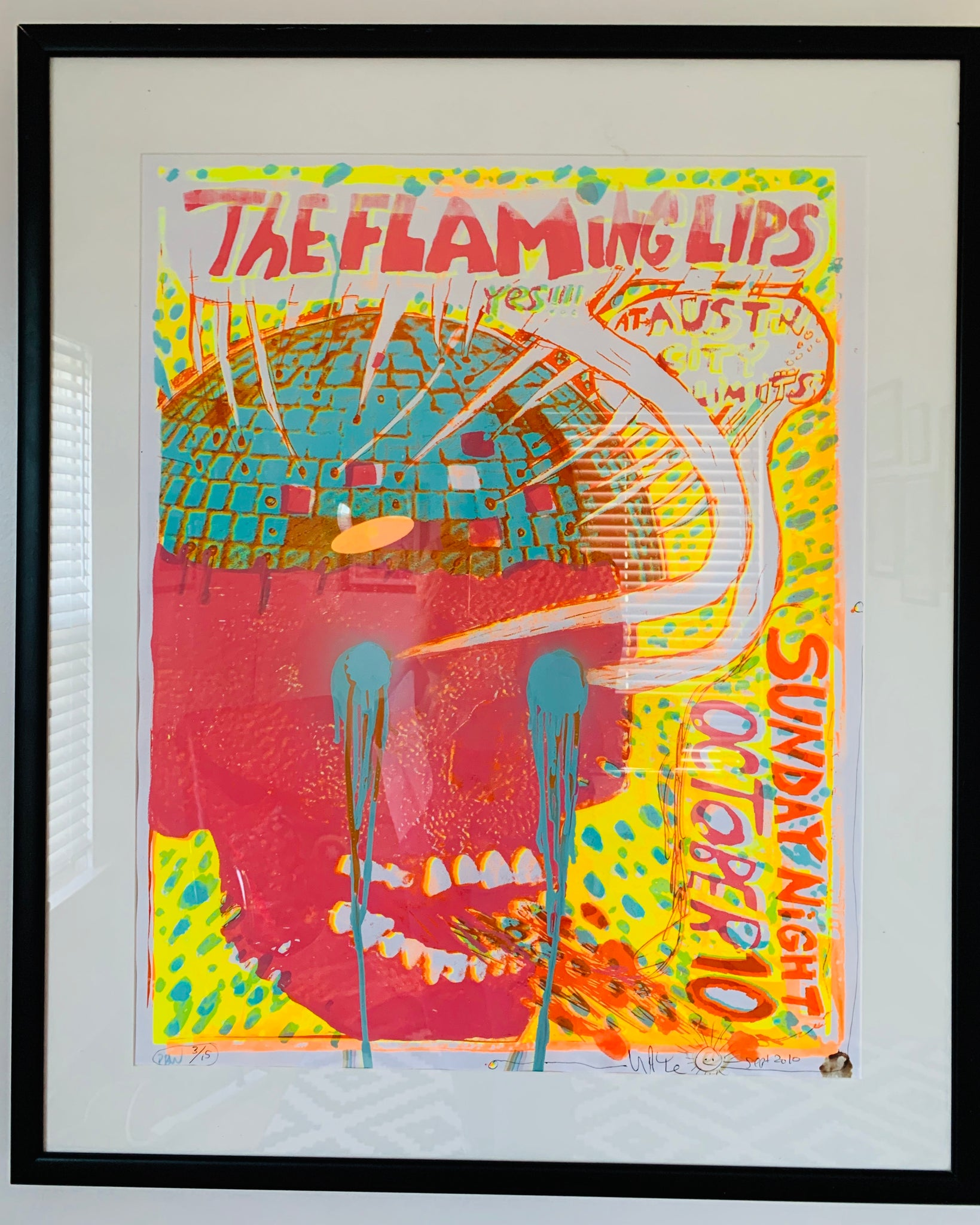 Limited Flaming Lips at Austin City Limits poster