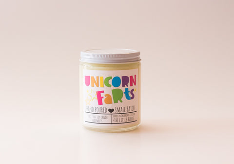 Unicorn Farts Candle
